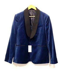 NEW Mango Men's Velvet Blazer